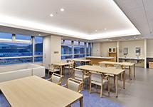 5階 食堂・談話室